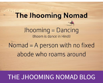 The Jhooming Nomad blog